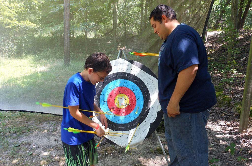 Archery comes to Manidokan